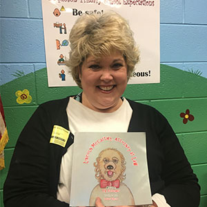Local Author Visits Poquoson Primary Students