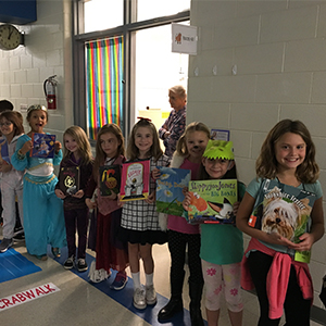 Poquoson Primary School Book Character Parade
