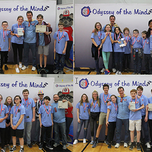 Poquoson Odyssey of the Mind Teams Going to World Competition