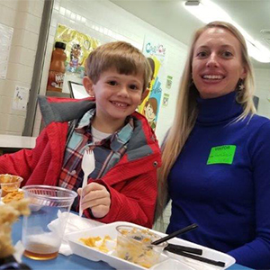 Poquoson Primary School Welcomes Families for Thanksgiving Lunch